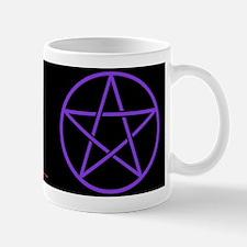 Purple/Black Pentagram Mug