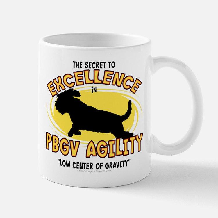 The Secret to PBGV Agility Mug
