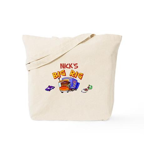 Nick's Big Rig Tote Bag