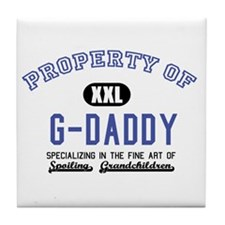 Property of G-Daddy Tile Coaster