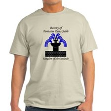 Barony of Fontaine Dans Sable Light T-Shirt