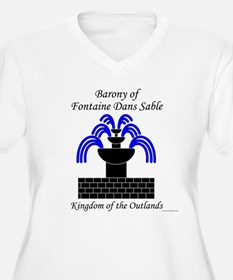 Barony of Fontaine Dans Sable T-Shirt