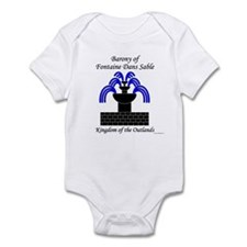 Barony of Fontaine Dans Sable Infant Bodysuit