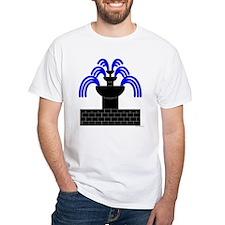 Fontaine Dans Sable White T-Shirt
