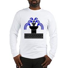 Fontaine Dans Sable Long Sleeve T-Shirt