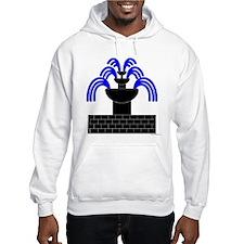 Fontaine Dans Sable Hooded Sweatshirt