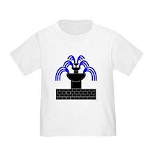 Fontaine Dans Sable Toddler T-Shirt