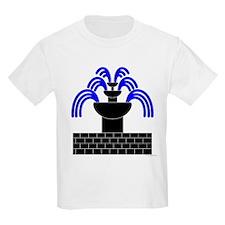 Fontaine Dans Sable Kids Light T-Shirt