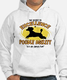 The Secret to Poodle Agility Hoodie