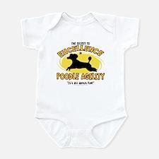 The Secret to Poodle Agility Infant Bodysuit