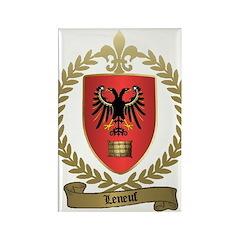 LENEUF Family Rectangle Magnet (100 pack)