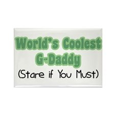 World's Coolest G-Daddy Rectangle Magnet