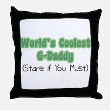 World's Coolest G-Daddy Throw Pillow