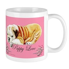 Puppy Love Bulldog Mug