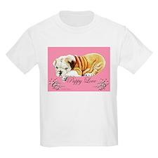 Puppy Love Bulldog T-Shirt