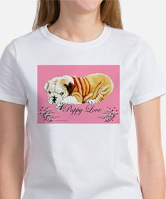 Puppy Love Bulldog Tee