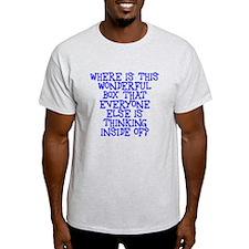 where is this wonderful box T-Shirt
