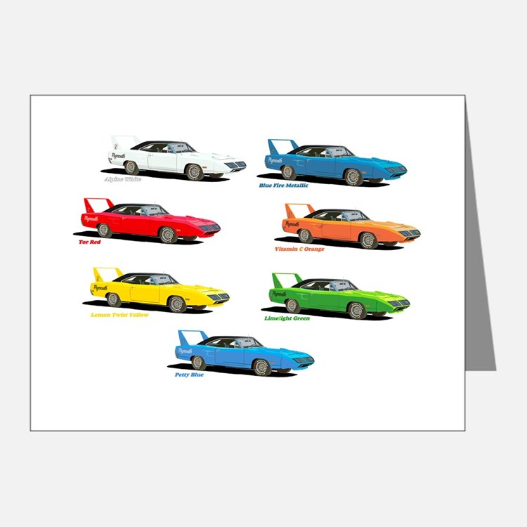 Super Colors Note Cards (Pk of 20)