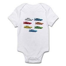 Super Colors Infant Bodysuit