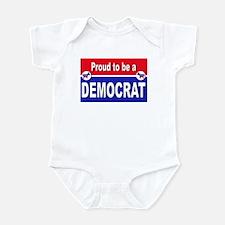Proud to be a Democrat Infant Bodysuit