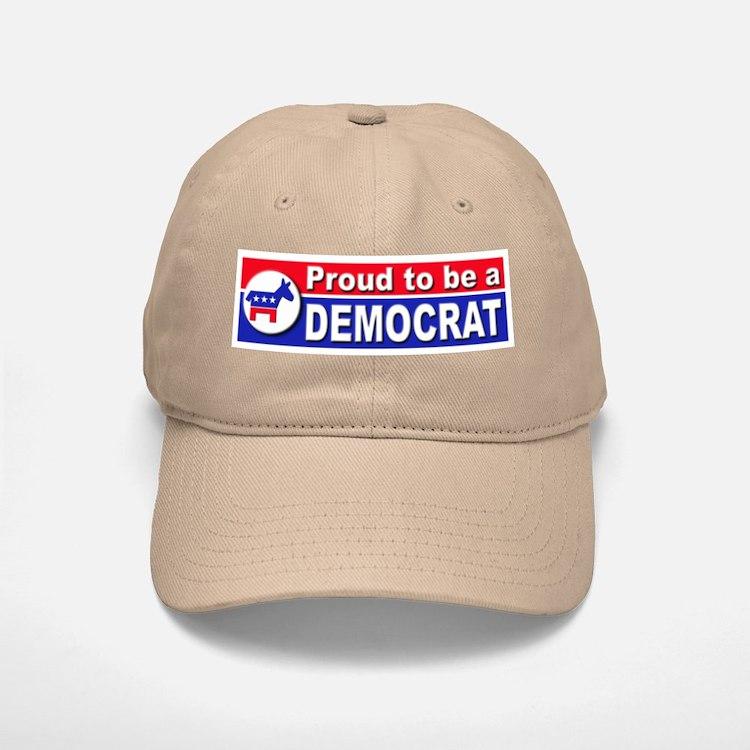 Proud to be a Democrat Baseball Baseball Cap