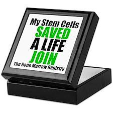 My Stem Cells Saved a Life Keepsake Box
