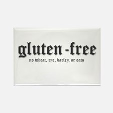 gluten-free Rectangle Magnet