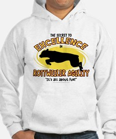 The Secret to Rottweiler Agility Hoodie