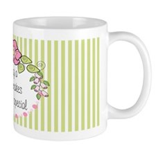 Being A Baba Makes Everyday Special Small Mug