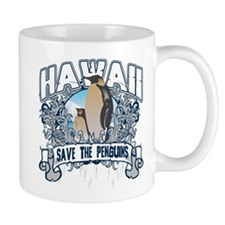 Save the Penguins Hawaii Mug