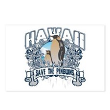 Save the Penguins Hawaii Postcards (Package of 8)