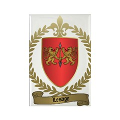 LESAGE Family Rectangle Magnet (100 pack)