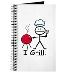 Grilling Stick Figure Journal