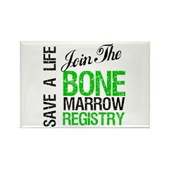 JoinTheBoneMarrowRegistry (G) Rectangle Magnet