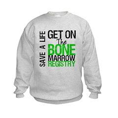 GetOnThe Bone Marrow Registry Sweatshirt