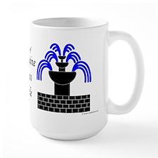 Fontaine Dans Sable Large Mug