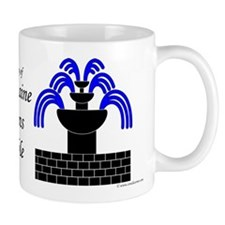 Fontaine Dans Sable Mug
