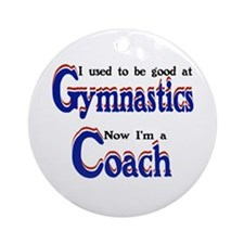 Coach Gymnastics (2) Ornament (Round)