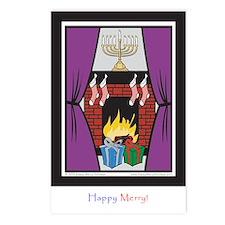 Set for Holidays postcard (Pkg of 8)