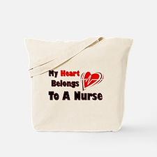 My Heart Nurse Tote Bag