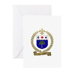 LEVASSEUR Family Greeting Cards (Pk of 10)