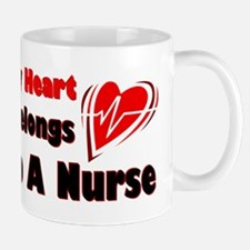 My Heart Nurse Mug