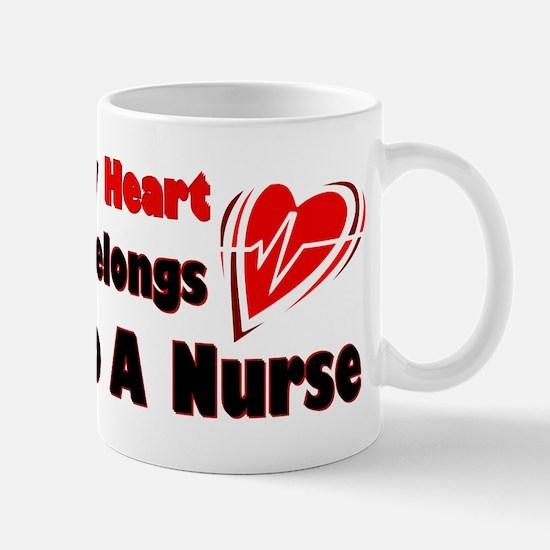 My Heart Nurse Mug