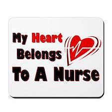 My Heart Nurse Mousepad
