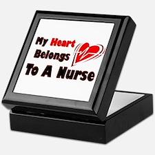 My Heart Nurse Keepsake Box