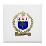 LEVASSEUR Family Tile Coaster