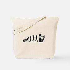 Printing Evolution Tote Bag