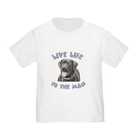 Black Lab Live Life to the Max T-Shirt