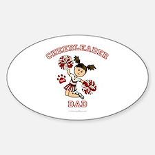 TJHS Cheerleader Dad Oval Decal