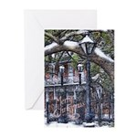 Jackson Square Snow Christmas Cards (Pk 20)